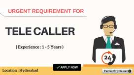 Required Male Female Telecallers***