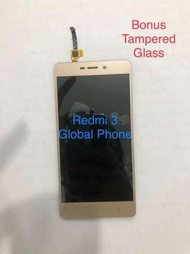 LCD Xiaomi Redmi 3 (BISA COD) Free Pasang BONUS Tampered BERGARANSI