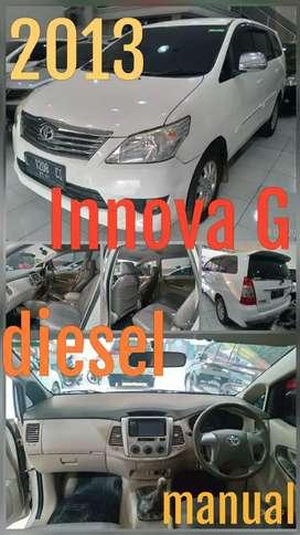 PAKET PROMO BULAN INI khusus 30 pembeli ! Innova diesel G manual 2013