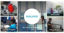 Cleaning, Tukang Bangunan, Laundry, Service AC, Pest Control Malang