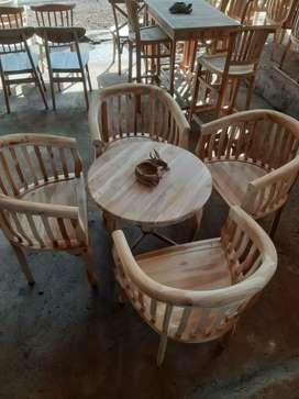 Kursi satu set kayu jati