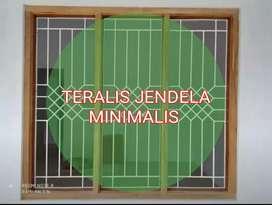 Teralis Jendela Minimalis modern Yogyakarta