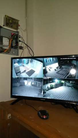Paket 4 Kamera Cctv Dahua 2 MP Full HD + Pemasangan