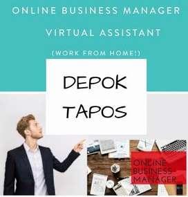 LOWONGAN KERJA > ONLINE BUSINESS MANAGER AREA TAPOS DEPOK