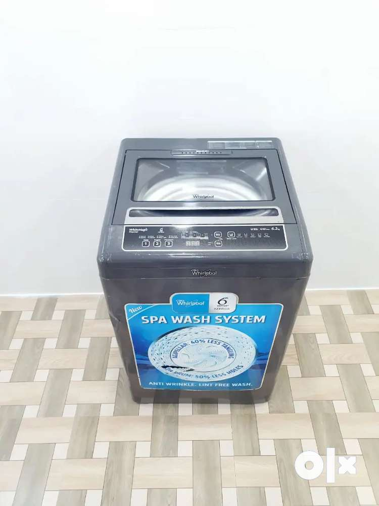 Whirlpool Max dry grey color top load washing machine fully automatic