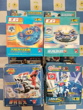 Beyblades for sale.