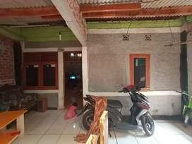Rumah kampung tmurah tanah luas depan vila Nusa indah 3 bojongkulur