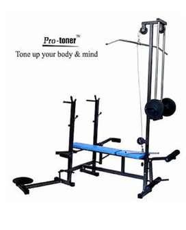 Protoner 20 in bench with 75kg weight