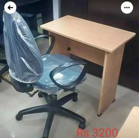 New Table & Used Chair Starting At Rs 3000 With One Year Warranty