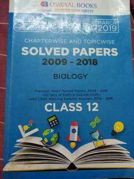 OSWAAL Book for class 12( 2009_2018) CBSE