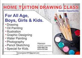 HOME TUITION DRAWING CLASS