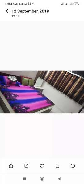 Furniture flat for pg at Bhatar.