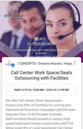 Female CSR for Domestic inbound outbound call Center Campaign