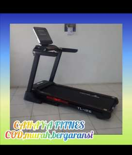 Treadmill elektrik tl 126 atau tl126 alat fitnes murah mewah