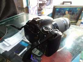 canon 600d with 18 55lens with 75 300.Lens  10 by 10 new