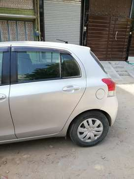 Toyota Vitz Available for rent with driver