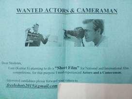 Wanted Short Film Actors