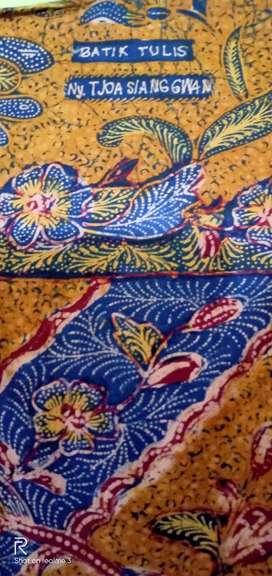 Sarung Batik Tulis Ny. Tjoa Siang Gwan