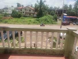 1 bhk road facing apartment for rent