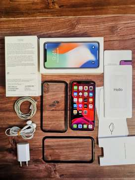 IPHONE X 256 Gb Silver Mulus iBox TT 7 8 Plus 32 Xr 64 128 Xs Max 512