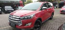 Toyota Kijang Innova venturer 2.4 diesel AT merah 2018 Plat Ganjil