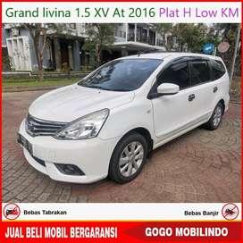 [Dp17jt] Grand Livina XV Matic 2016 Low KM Kredit Murah