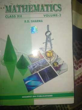 Rd sharma class 12th 2014