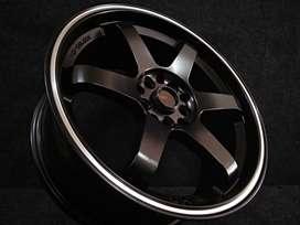 jual velg mobil murah untuk civic TE37RT JD37  R17X75 free ongkir