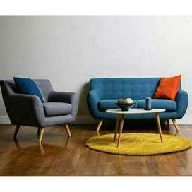 Sofa tamu retro