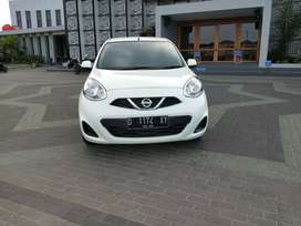DP.14jt Nissan march matic km17rb mls siap pke