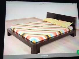 Mango wood Bed Gently Used