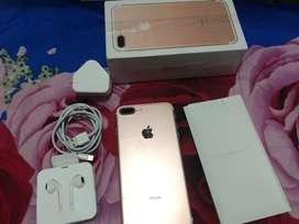 Iphone 7plus 128gb fullset mulus no minus