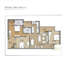 3bhk lxurious flats