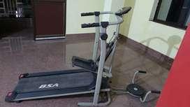 BSA 4 in one manual treadmill