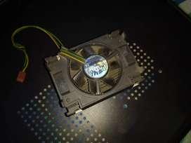 Processor Fan And Heatsink