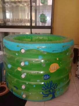 Jual kolam renang anak merk intime + pompa dan pelampung