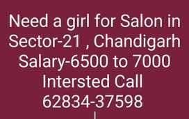Girl Needed for Salon