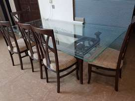 Dinning table with 8 chairs