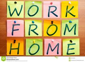 job do work from home & start earning Money