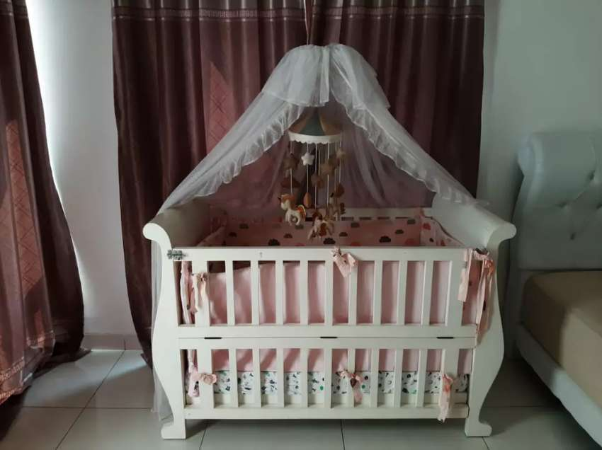Jual Murah Box Bayi ( Elle Baby Cribs 120x70 ) 0