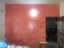 Royal luxury Wall painting works