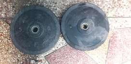 5 kg 2 gym plates