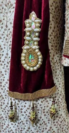 Sherwani for groom on rent