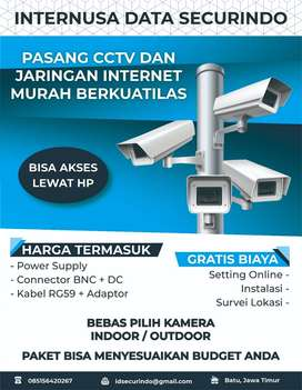 Pasang CCTV Berkualitas Kota Batu