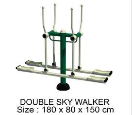 JUAL ALAT FITNES OUTDOOR TERMURAH - DOUBLE SKY WALKER GARANSI 1 TAHUN