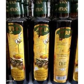Minyak zaitun 250 extra virgin olive oil afra herbal kios madu kurma