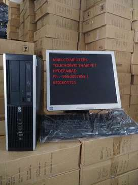 BRANDED HP CORE 2 DUO 2GB RAM 250GB HDD 17INC LCD KEY/MOUSE