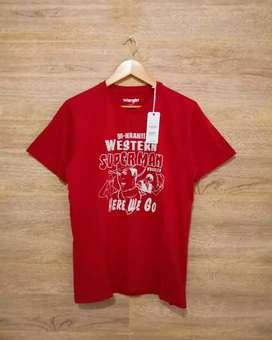 Kaos Wrangler Red Original