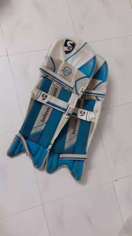 SG Campus Original Batting Pads Leg Guard in New Condition Full Size