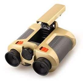 HS Teropong Night Scope 4 x 30mm Binoculars with Pop-Up Light
